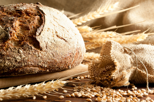 Healthy eating and nutrition _ bread gluten and grains