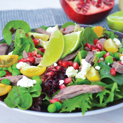 Healthy-Eating-Fertility-Foods_Pomegrante-Lamb-Salad