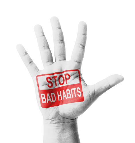 3 Tricks on How to Stop Bad Habits