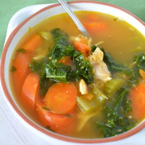 Chicken Kale Turmeric Soup 500x500