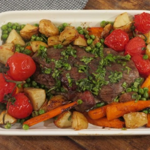 Basil Roasted Lamb and Vegetables_Fertility Food Revolution_thumb