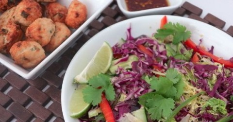 Thai-Chicken-Meatballs-and-Asian-Slaw_Fertility-Food-Revolution